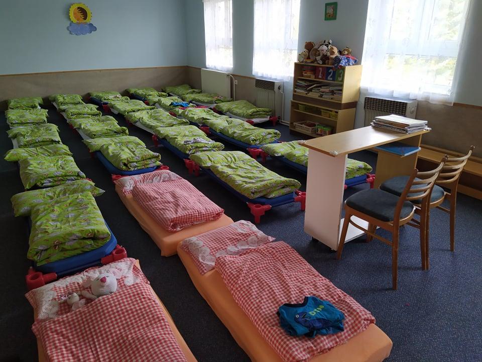 Mateřská škola - ložnice