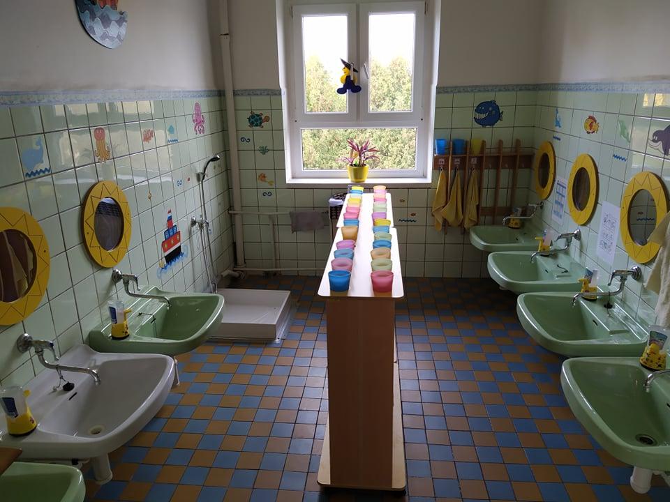 Mateřská škola - umývárna