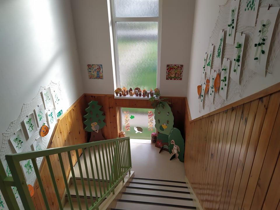 Mateřská škola - schodiště