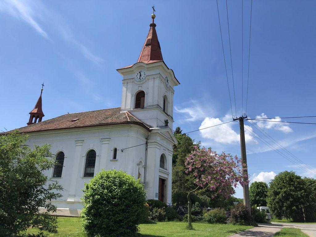 Kostel sv. Jana Křtitele v Pohoří