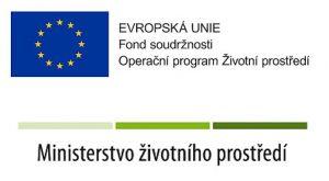 EVROPSKÁ UNIE Fond soudržnosti - operační program Životní prostředí a MINISTERSTVO ŽIVOTNÍHO PROSTŘEDÍ
