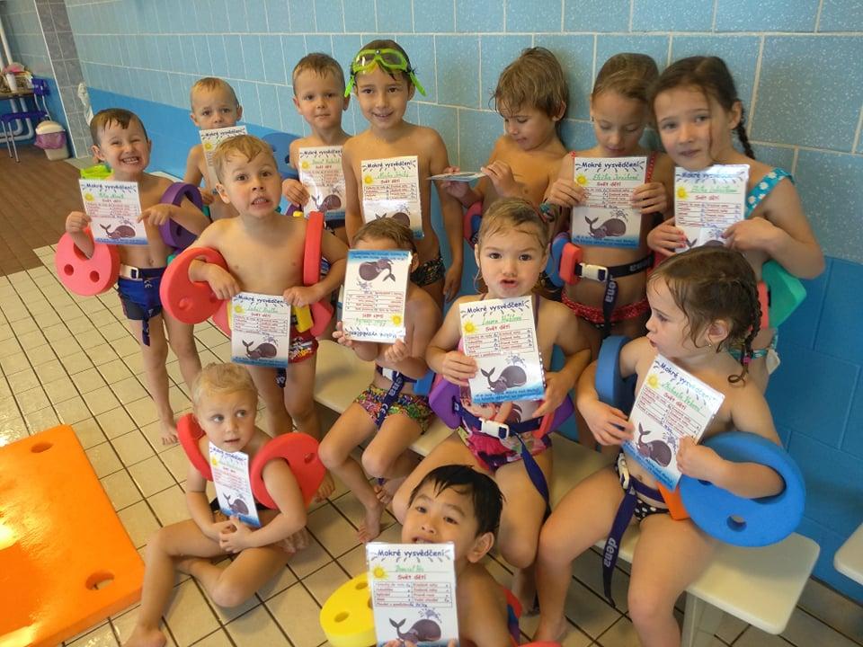 Mateřská škola - plavecký kurz