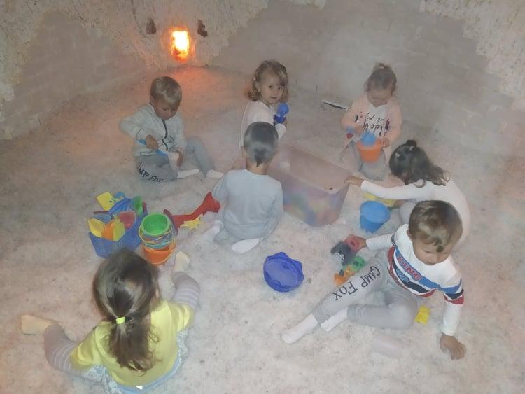 Mateřská škola - solná jeskyně