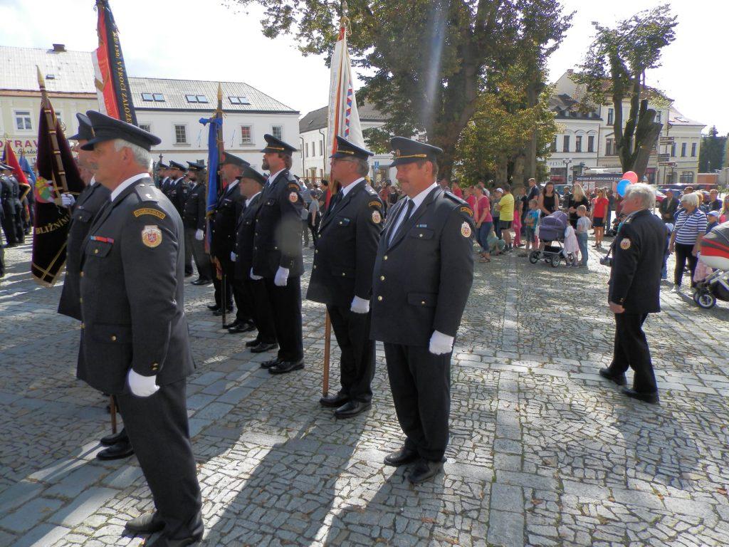 SDH Pohoří - svěcení praporu v Rychnově nad Kněžnou
