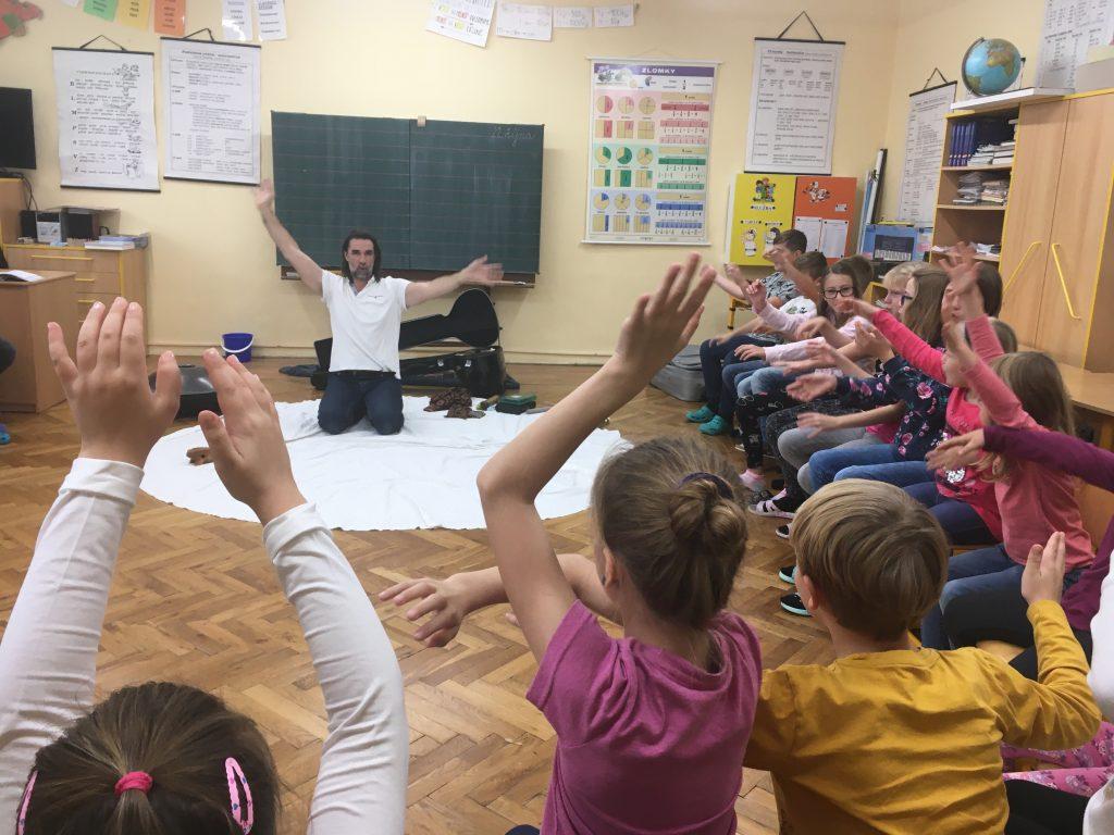 Ze života Základní školy v Pohoří