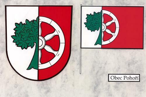 Znak obce Pohoří